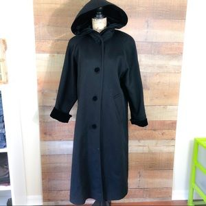 Forecaster of Boston Long Sleeve Wool Trench Coat